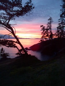 Sooke House Sunset, Dec 13-11